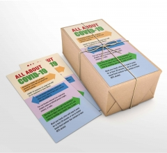 All About Coronavirus Disease Business Flyers (Non folded)