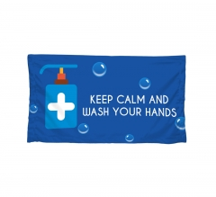 Polyester Fabric Advisory Banners