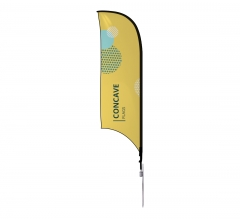 Concave Flags