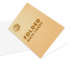 Folded Note Cards