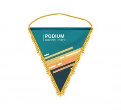 Custom Podium Banners - Type C
