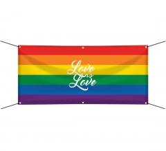 Rainbow Pride Banners