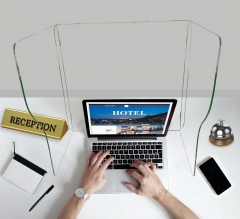 Reception Desk Sneeze Screen