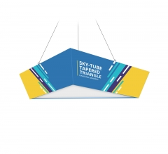 Skytube Tapered Triangle Hanging Banners