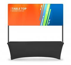 Table Top Banner - Half Display