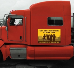 Truck Magnetic Signs