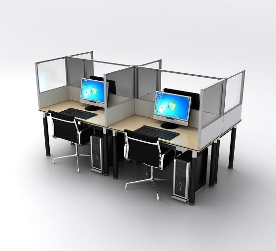 SEG Desktop Dividers - 4 Desk