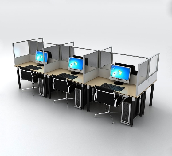 SEG Desktop Dividers - 6 Desk