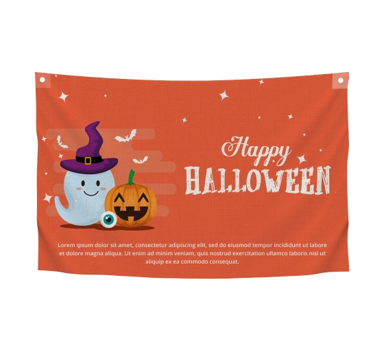 Halloween Canvas Banners
