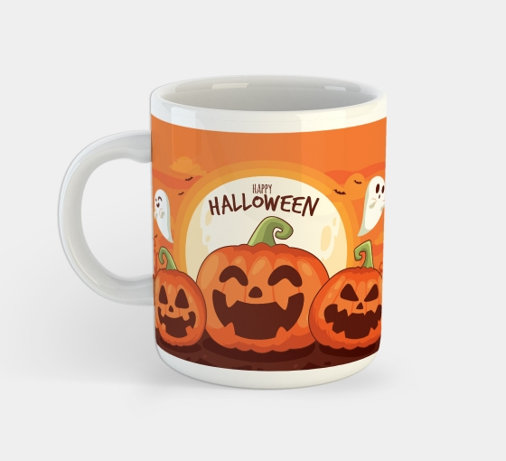 Halloween Custom Mugs