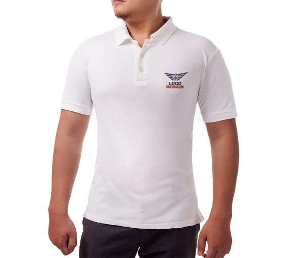 Cotton Polo Shirt - Embroidered