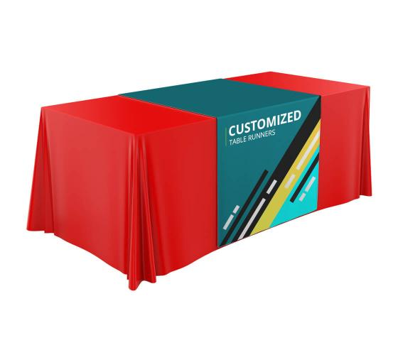 Custom Table Covers- Let Your Table Do The Advertising