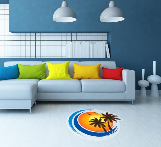 Die-Cut Floor Decals