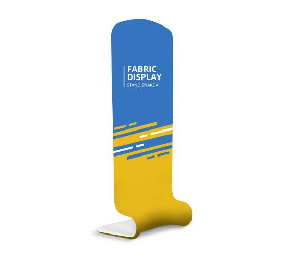 Fabric Display Stand Snake B