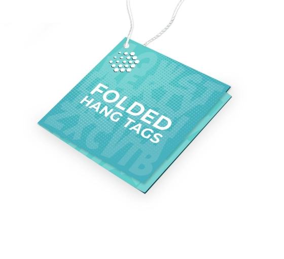 Folded Hang Tags