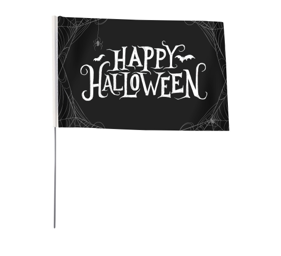 Halloween Hand Flags