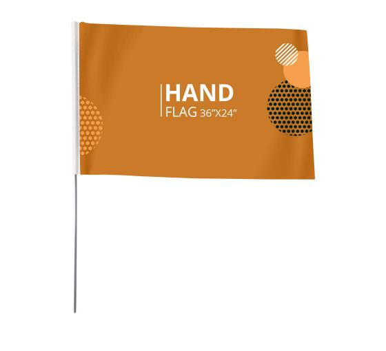 Custom Hand Waving Flags