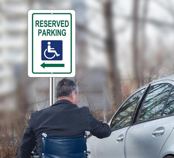 Handicap Parking Signs