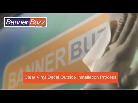 Vinyl Custom Clear Stickers - Transparent Round Stickers