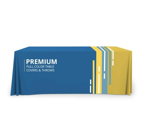Premium Full Color Table Throws