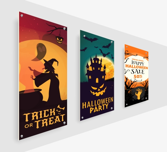 Halloween PVC Foam Board Signs