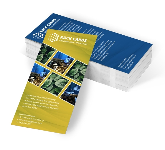 Personalise Rack Cards