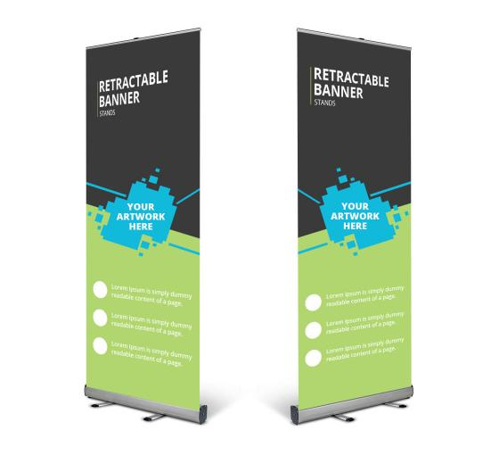 Retractable Banner Stand- Look Professional, Save Your Time and Tackle Big Amounts of Information