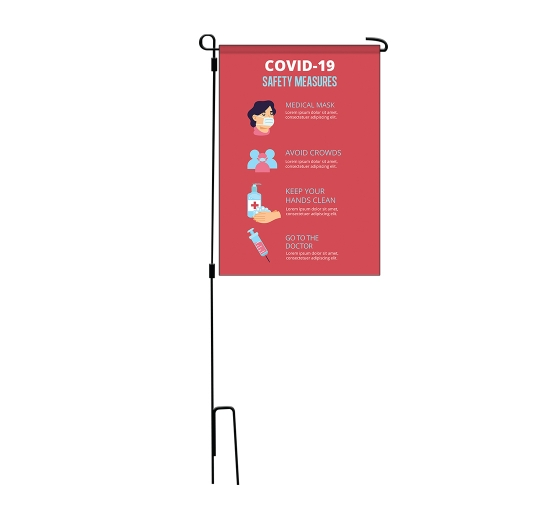 Safety Garden Flags