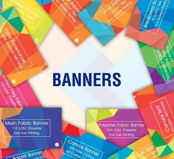 Printed Banner Samples | Free Sample Kit | BannerBuzz
