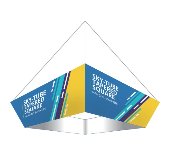 Sky Tube Tapered Square Hanging Banners