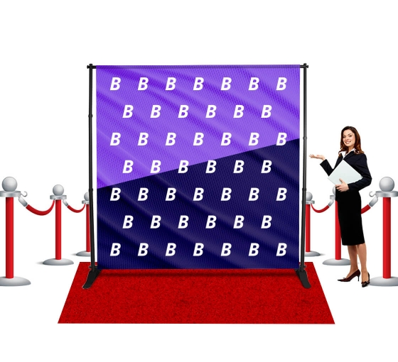 Step and Repeat Banners - Fabric