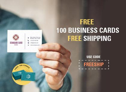 Free Biz Cards Campaign - UK